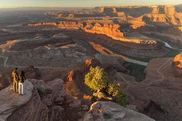 USA15694AW USA, Southwest, Colorado Plateau, Utah,Deadhorse Point State Park, Colorado river,