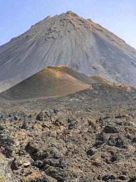 AF08MZW0011 Stratovolcano mount Pico do Fogo. Fogo Island (Ilha do Fogo), part of Cape Verde.