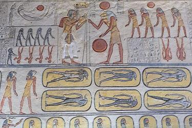 AF14MWT0158 Egypt. Tomb of Tutankhamen, Valley of the Kings.
