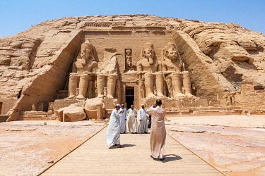 AF14MWT0169 Egypt, Abu Simbel. Temple of Ramses II.