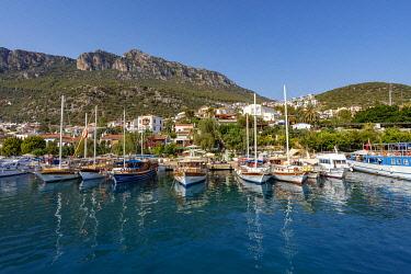 AS37AKA2144 Harbor in Kas, Antalya, Turkey.