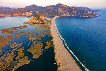 AS37AKA2155 Iztuzu Beach, Dalyan, Mugla, Turkey.