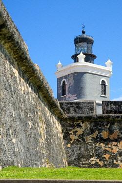 CA27JMR0002 San Juan Puerto Rico. Old Fort.