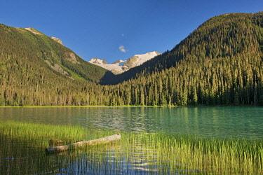 CN02BJY0577 Canada, British Columbia, Joffre Lakes Provincial Park, Lower Joffre Lake landscape.