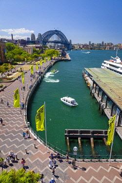AUS4706AW Sydney Water Taxi. Circular Quay, Sydney, New South Wales, Australia