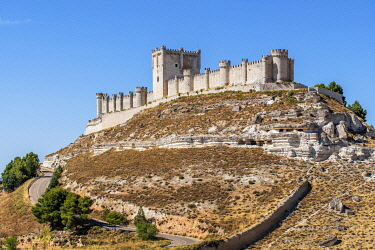 Castle of Penafiel, Penafiel, Castile and Leon, Spain