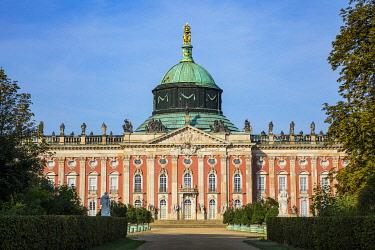 DE02153 New Palace at the Sanssouci Park,  Potsdam, Brandenburg, Germany