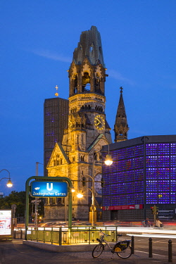 DE01543 Kaiser Wilhelm Memorial Church, Berlin, Germany