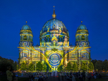 DE01586 Festival of Lights, Berliner Dom, Berlin, Germany