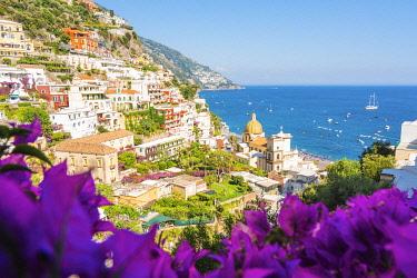 ITA16242AW Positano, Amalfi Coast, Gulf of Salerno, Salerno province, Campania, Italy
