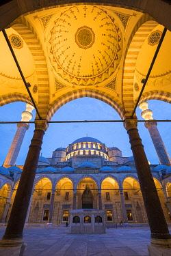 TK01991 Suleymaniye Mosque, Istanbul, Turkey