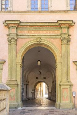 POL2677AW Wawel Royal Castle,Unesco World Heritage Site, Krakow Old Town, Krakow, Poland, Eastern Europe