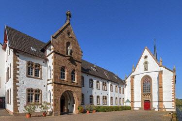 GER12580AW Mariawald cloister near Heimbach, Eifel National Parc, Eifel, North Rhine Westphalia, Germany