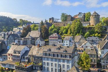 GER12635AW View at Monschau, Eifel, North Rhine Westphalia, Germany