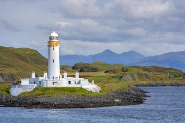 SCO35884 UK, Scotland, Isle of Mull, Inner Hebrides, The lighthouse was built by Robert Stevenson in 1833