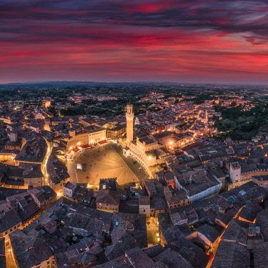 IT09422 Italy, Tuscany, Siena, Piazza del Campo