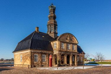 IBXKIP04080569 Nyholm Central Guardhouse, Holmen naval base, Copenhagen, Denmark, Europe