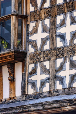 ENG18317 England, Shropshire, Shrewsbury, Traditional Half timbered Buildings