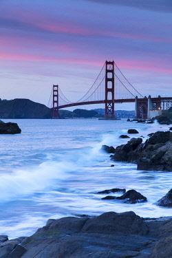USA15993AW Golden Gate Bridge, San Francisco, California, USA