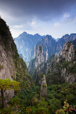 CH12596AW Yellow Mountains, Huangshan, Anhui, China (UNESCO World Heritage Site)