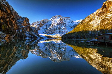 Lago di Braies, South Tyrol, Dolomites, Italy[credit][sep = / ]