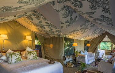 Richards Camp, Masai Mara, Kenya, a beautiful guest tent.