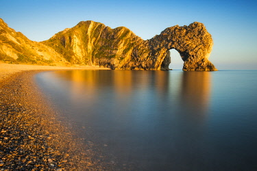 ENG18653AW Durdle Door, Jurassic Coast, Dorset, England UK