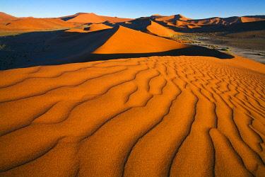 NAM6934AW Sand dunes at Soussusvlei,  Namib-Naukluft National Park, Namibia, Africa