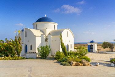 CYP0314AW St Nicholas Church or Ayios Nicholaos, Geroskipou,  Paphos, Cyprus