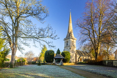St Marys Church, Lower Slaughter, Cotswolds, Gloucestershire, England, UK