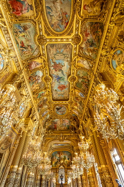 France, Paris, Opera Garnier, Heritage Days, the Grand Foyer