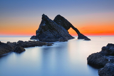 Bow Fiddle Rock, Scotland, Great Britain