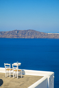 Greece, Cyclades, Santorini Island (Thera or Thira), the town of Fira