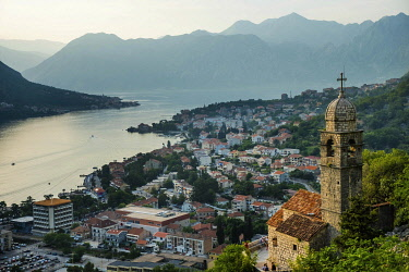 Montenegro, Kotor, old fortified venitian town of Kotor, registered World Heritage Site by UNESCO, Our Lady of Remedy