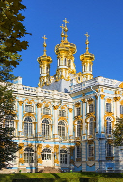 Church of the Resurrection, Catherine Palace, Pushkin (Tsarskoye Selo), near St. Petersburg, Russia