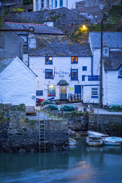 Harbour, Polperro, Cornwall, England, UK