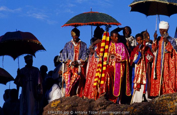 ethiopian christmas day celebrations genna bet maryam church lalibela ethiopia - When Is Ethiopian Christmas