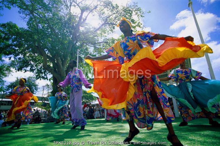 Carnival / Dancing Group, Barbados, Caribbean Islands
