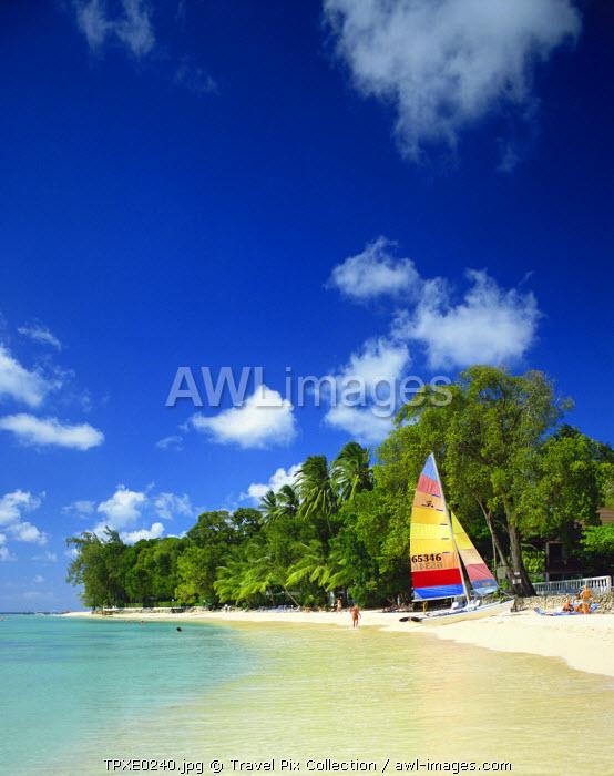 Caribbean, Barbados, Holetown Beach