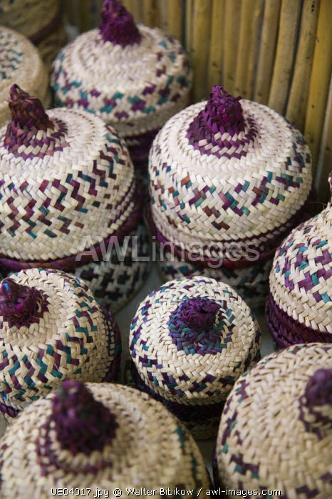 Bahrain, Al Jasra, Al Jasra Handicraft Centre, Wicker baskets