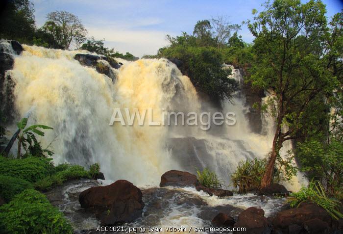Waterfall near Bangui, Central African Republic