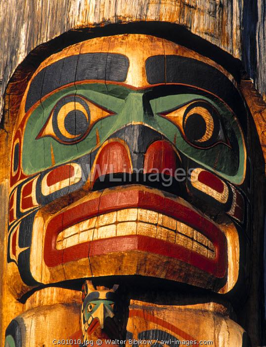 Totem Poles, British Columbia, Canada