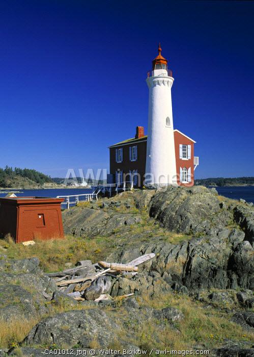 Lighthouse, Fisgard, Victoria, British Columbia, Canada