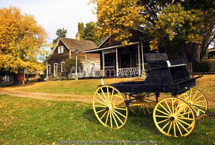 O'Keefe Historic Ranch Museum, Vernon, British Columbia, Canada