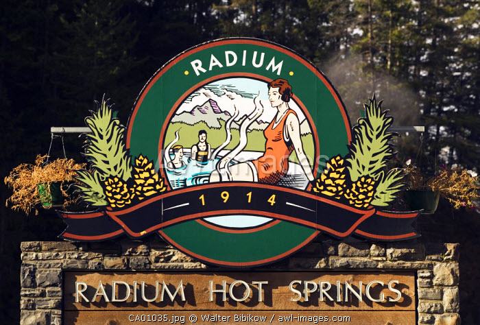 Radium Hot Springs, The Rockies, British Columbia, Canada