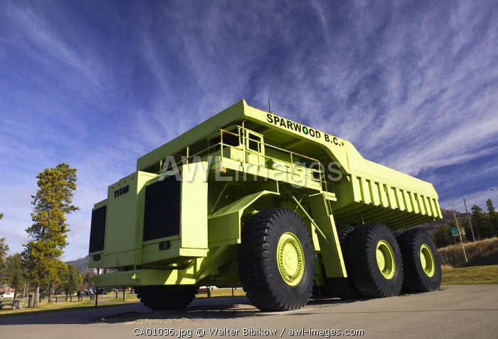 Titan 38-19 (World's Biggest Truck), British Columbia, Canada