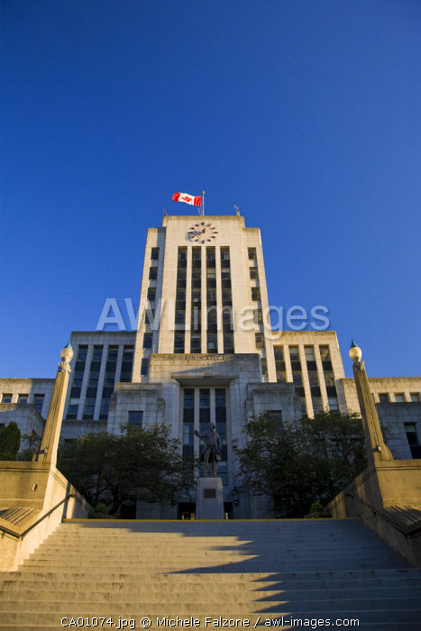 Vancouver City Hall, Vancouver, British Columbia, Canada