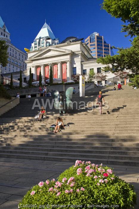Vancouver Art Gallery, Vancouver, British Columbia, Canada