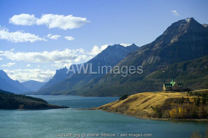 Prince of Wales Hotel, Waterton Lakes National Park, Alberta, Canada