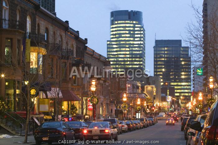 Crescent Street, Montreal, Quebec, Canada